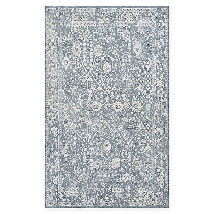 Alternate image 1 for Couristan® Marina Lillian 7'10 x 10'9 Area Rug in Blue/Oyster