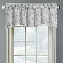 Allendale Lined Embroidered Window Valance