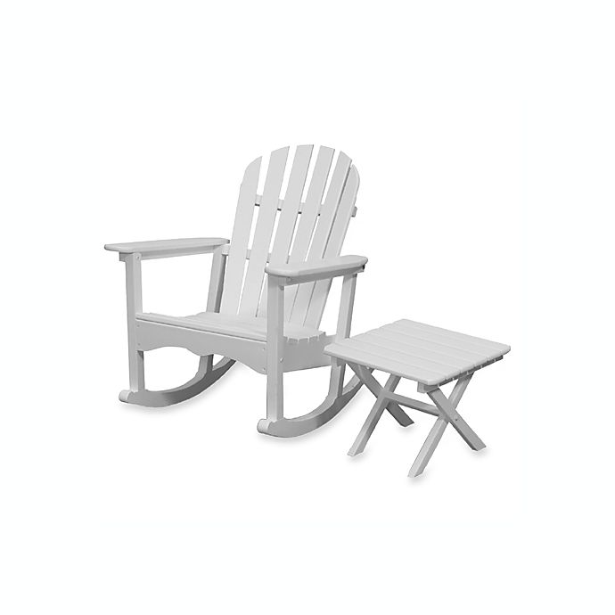 Beachfront Furniture Collection Adirondack Rocking Chair Square