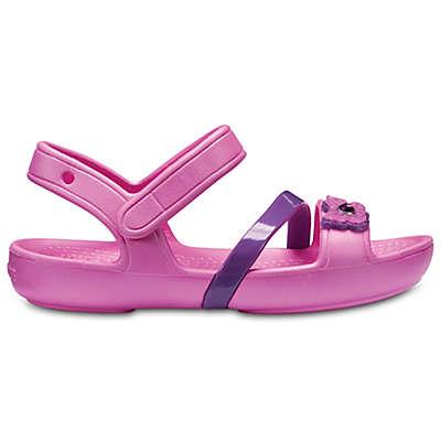 Crocs™ Lina Kids' Sandal in Pink