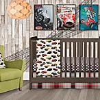 Glenna Jean Fast Track 3-Piece Crib Bedding Set