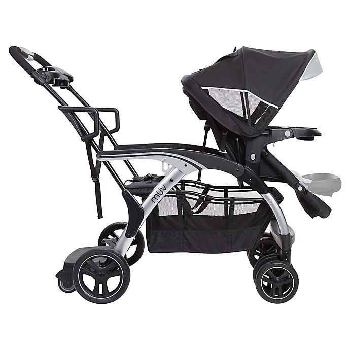Alternate image 1 for Baby Trend® MUV 180° Sit N' Stand Stroller in Black