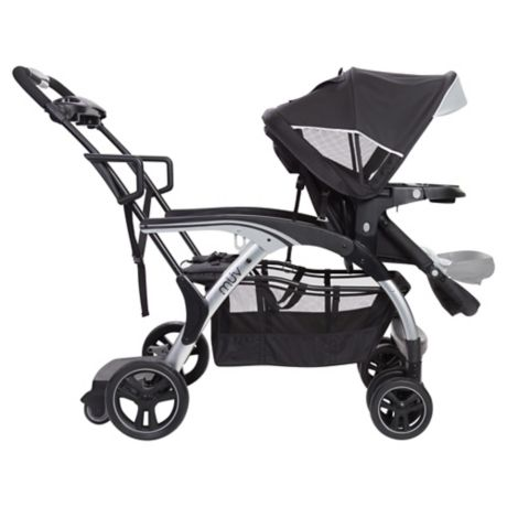 Baby Trend Muv 180 Sit N Stand Stroller In Black