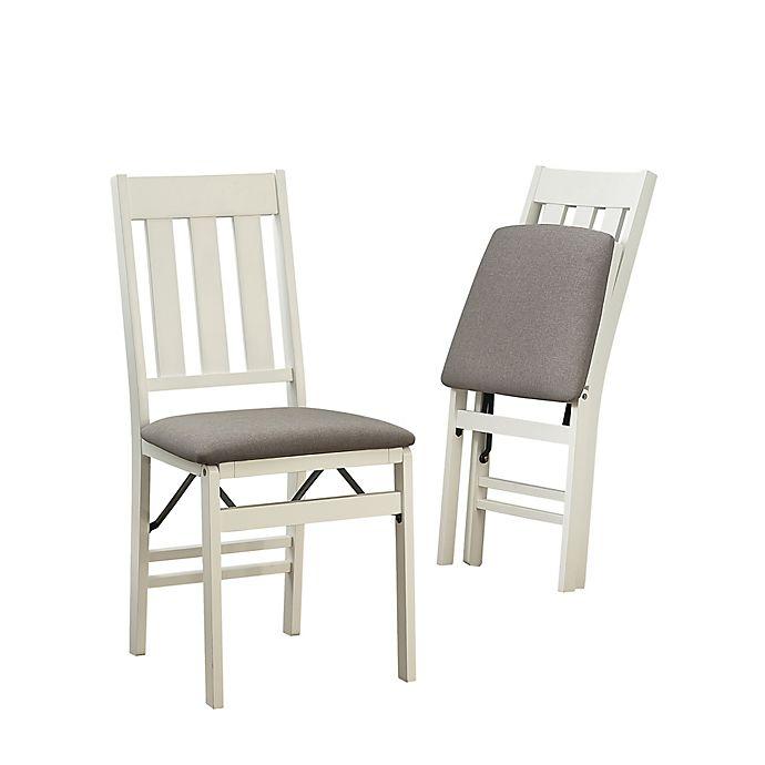 Linon Home Linen Upholstered Chair