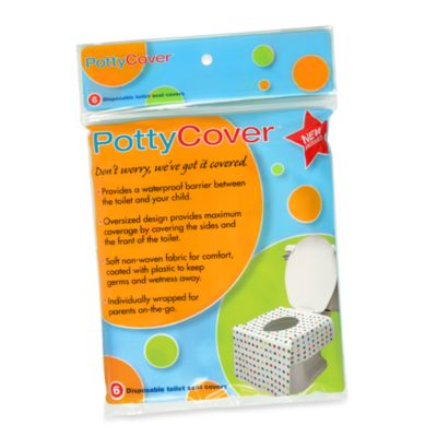 Pottycover 6 Pack Disposable Toilet Seat Covers Bed Bath