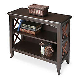 Butler Specialty Company Newport Bookcase in Black/Cherry