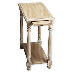 Devane Accent Table with Tray in Driftwood