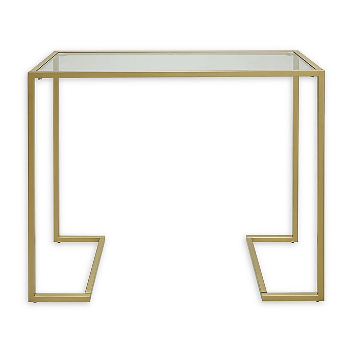 Alternate image 1 for Monaco Glass Top Console Table