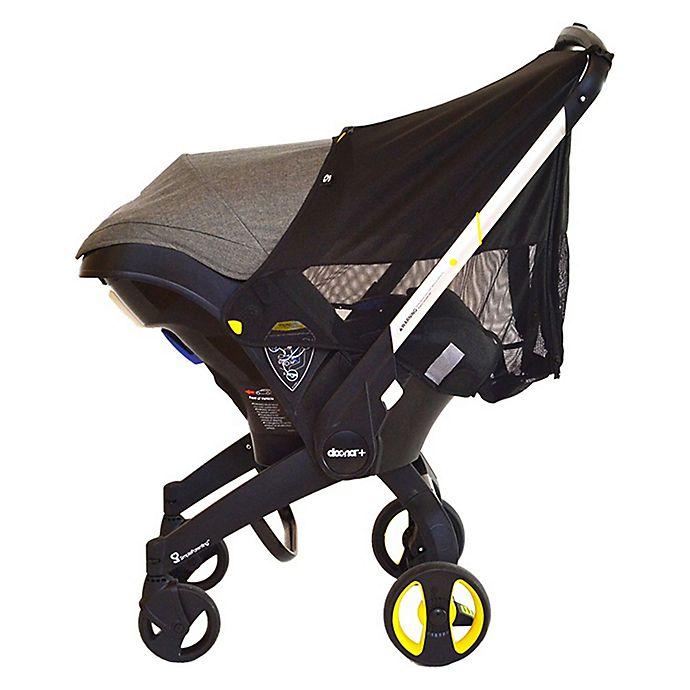 Alternate image 1 for Doona™ Infant Car Seat/Stroller 360 Protection Cover in Black
