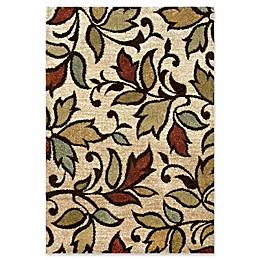 Orian Rugs Wild Weave Getty Bisque 9' x 13' Area Rug in Beige/Multi