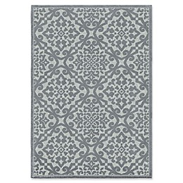 Orian Rugs Boucle Lansing Harbor 9' x 13' Area Rug in Blue