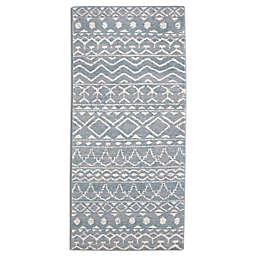Palisade Tribal 2'8 x 8' Runner in Grey