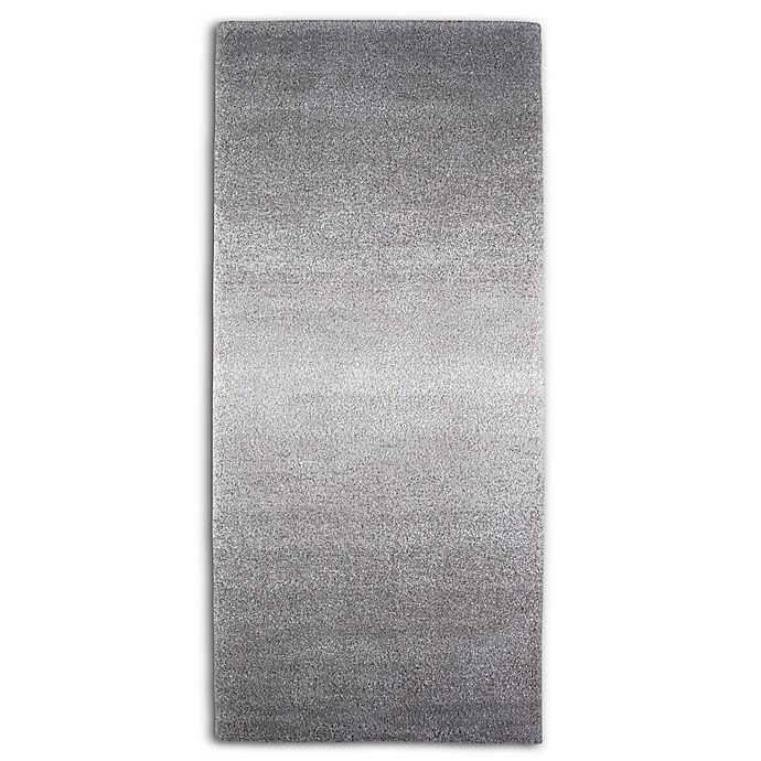 Alternate image 1 for Moonlight Ombre 3' x 8' Runner in Grey