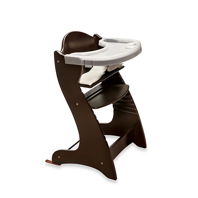 Fantastic Badger Basket Embassy Wood Baby High Chair With Tray In Alphanode Cool Chair Designs And Ideas Alphanodeonline
