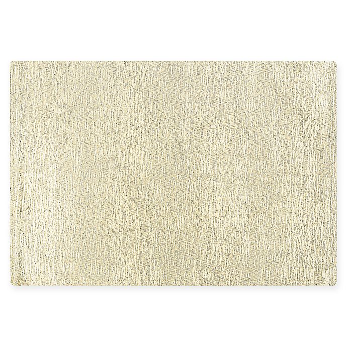 Alternate image 1 for Waterford® Linens Lunar Placemat in Ivory