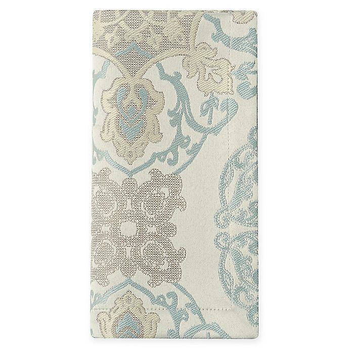 Alternate image 1 for Waterford® Linens Jonet Napkins in Aqua (Set of 2)