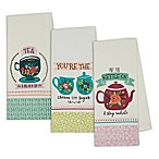 Design Imports Tea Party Kitchen Towels (Set of 3)