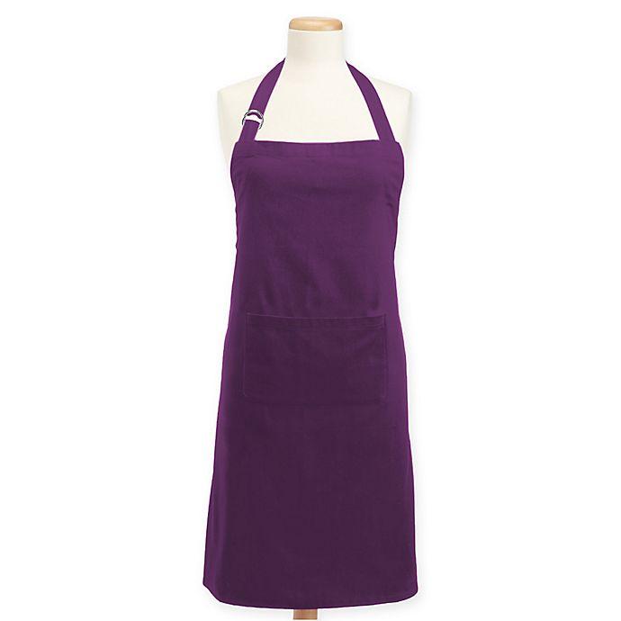 Alternate image 1 for Design Imports Neon Chef Apron in Purple