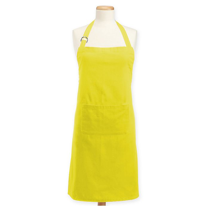 Alternate image 1 for Design Imports Neon Chef Apron in Yellow