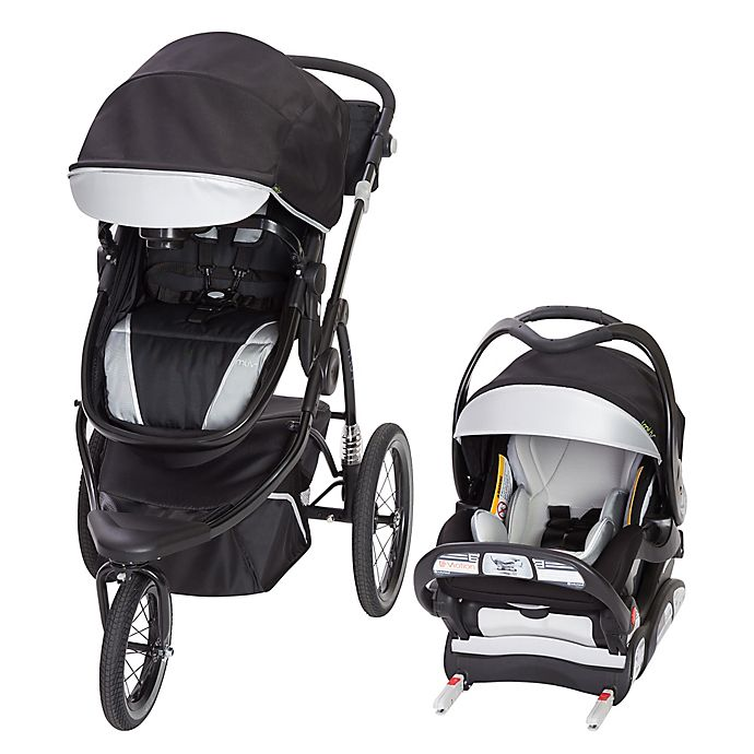 Alternate image 1 for Baby Trend® MUV 180° Jogger Travel System in Black