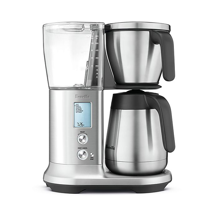 Alternate image 1 for Breville® Precision Brewer™ 12-Cup Thermal Coffee Maker in Stainless Steel