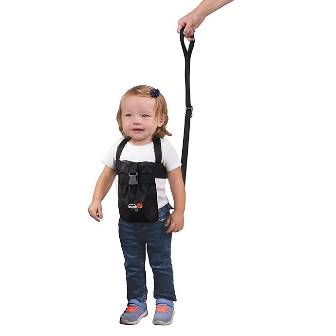Alternate image 1 for Leachco® Ride 'N Stride 2-Way Safety Harness in Black