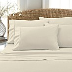 Leanne 800-Thread-Count Cotton Blend Full Sheet Set in White