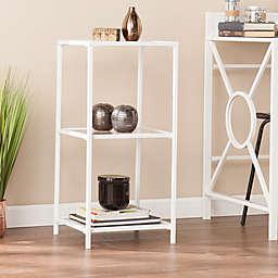 Southern Enterprises Prescott Bookshelf in White