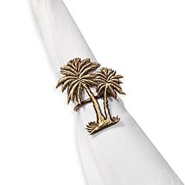 Double Palm Tree Napkin Ring