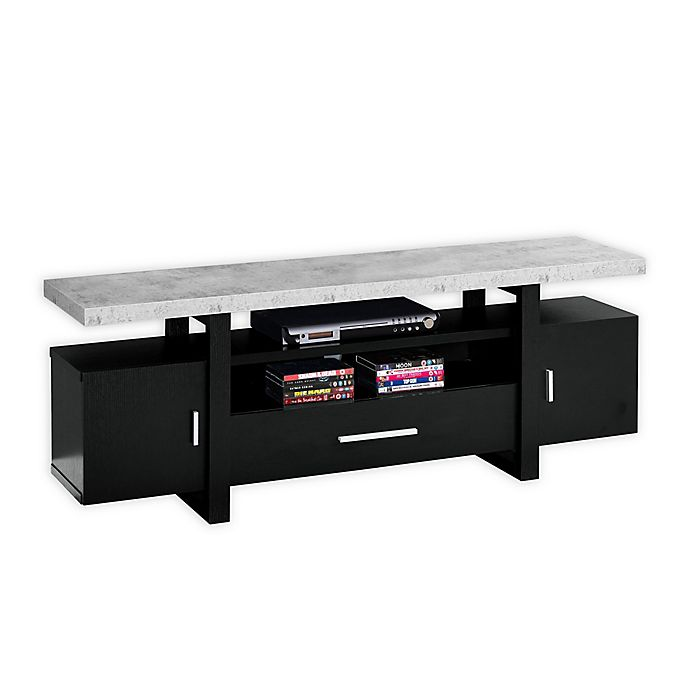 Cement Look Top Tv Stand View A Larger Version Of This Product Image