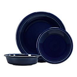 Fiesta® 3-Piece Classic Place Setting in Cobalt Blue