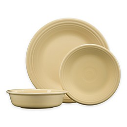 Fiesta® 3-Piece Classic Place Setting in Ivory