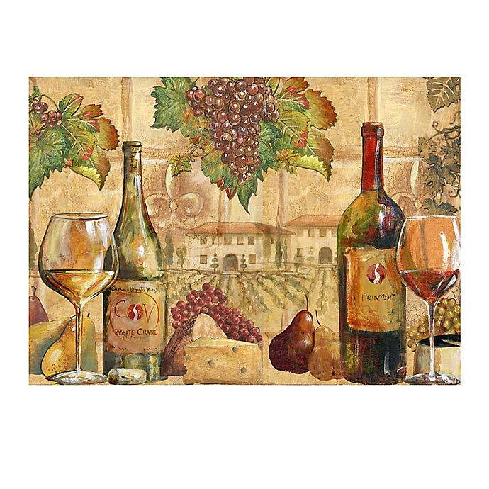 Alternate image 1 for Wine Collage Laminated Placemat
