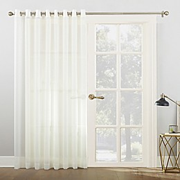 No.918® Emily Voile Grommet Top Sheer Sliding Door Patio Curtain Panel