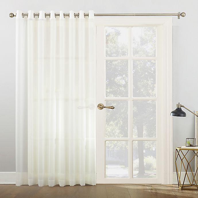 Blackout Patio Door Panel Patio Door Curtains Grommet Top Wide