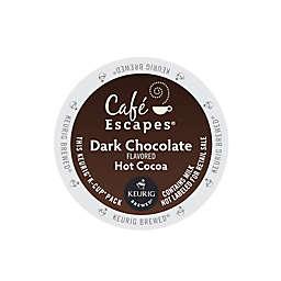 Café Escapes® Dark Chocolate Hot Cocoa Keurig® K-Cup® Pods 16-Count