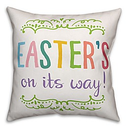 "Designs Direct ""Easter's on its Way!"" Throw Pillow"