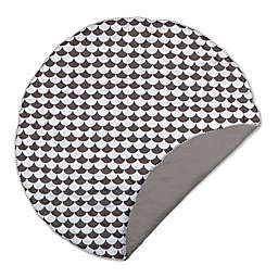 Lolli Living™ Kayden Scallop Play Mat in Black/White