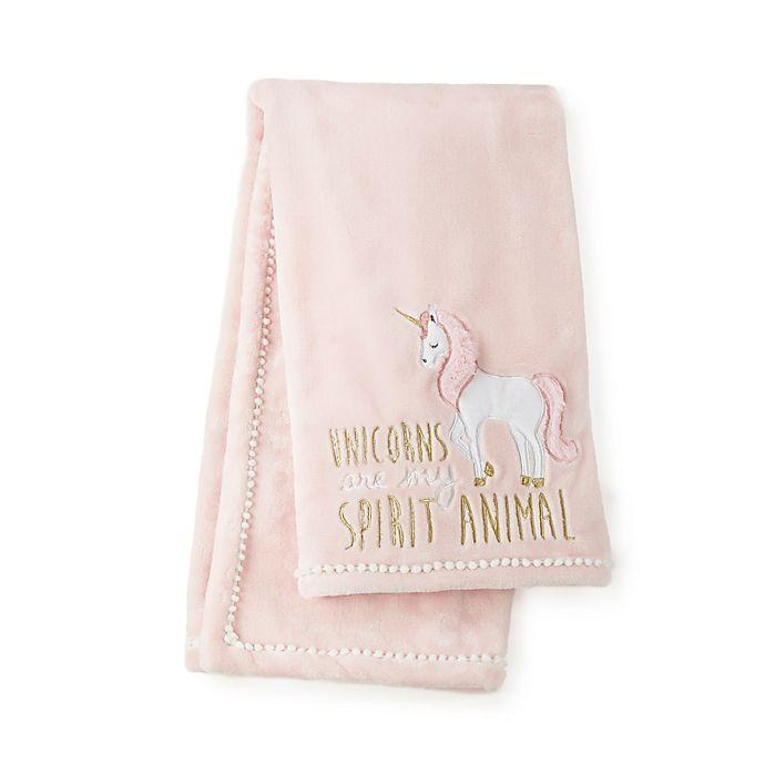 Alternate image 1 for Levtex Baby® Anastasia Plush Blanket