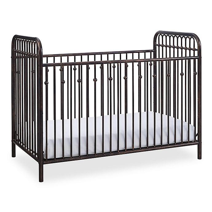 Alternate image 1 for Little Seeds™ Monarch Hill Ivy Metal Crib in Bronze