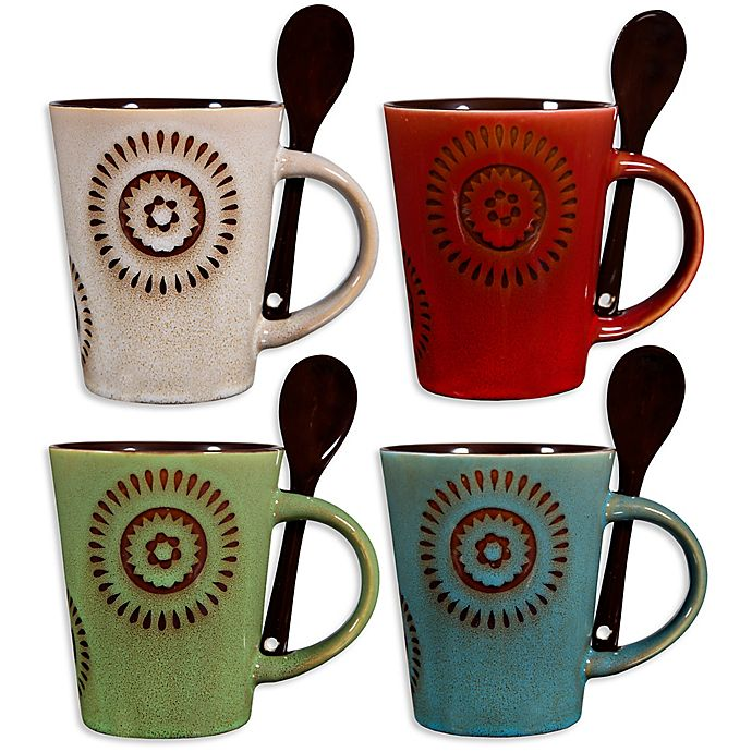 Home Essentials & Beyond Reactive Sun Coffee Mugs with ...