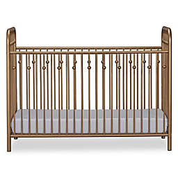 Little Seeds Monarch Hill Ivy Metal Crib in Gold