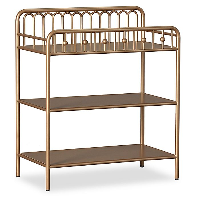 Alternate image 1 for Little Seeds Monarch Hill Ivy Metal Changing Table in Gold