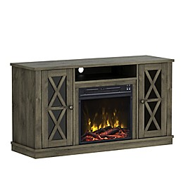 ClassicFlame® Bayport Electric Fireplace and TV Stand in Spanish Grey