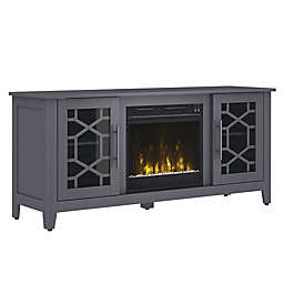 ClassicFlame® Clarion Electric Fireplace and TV Stand in Grey