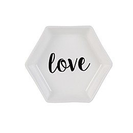 "Olivia & Oliver® ""Love"" Hexagon Ring Dish"