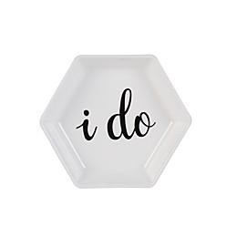 "Olivia & Oliver® ""I Do"" Hexagon Ring Dish"