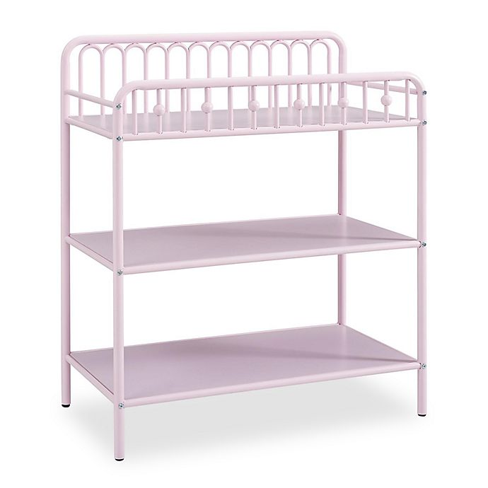 Alternate image 1 for Little Seeds Monarch Hill Ivy Metal Changing Table in Pink