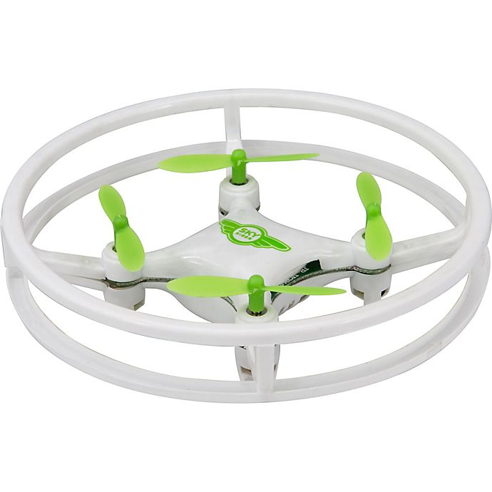 Alternate image 1 for Sky Rider Mini Glow Quadcopter Drone in White
