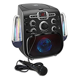 iLive Bluetooth® Karaoke Party Machine with Light Show